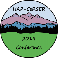 HARCeRSER Logo 3.0 RR HIRES 2019 Conference NO BCKGRD Circle