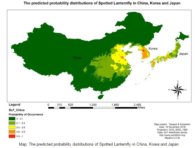 Predicting The Potential Distribution Of Spotted