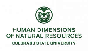 human dimensions of natural resources department at Colorado State university
